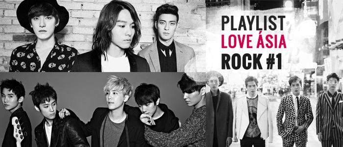 Playlist – Love Ásia Rock #1 – K-pop