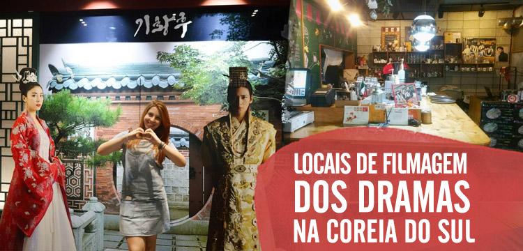 Locais de filmagens dos dramas que visitei Coreia do Sul